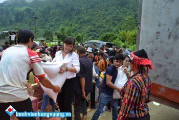 BVĐK Hùng Vương chung tay khắc phục hậu quả thiên tai Hà Giang 2018