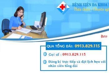 Đăng ký khám bệnh trực tuyến tại Bệnh viện đa khoa Hùng Vương