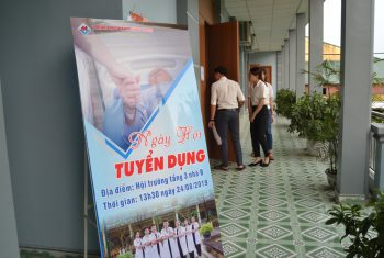 Ngày hội tuyển dụng Bệnh viện đa khoa Hùng Vương.