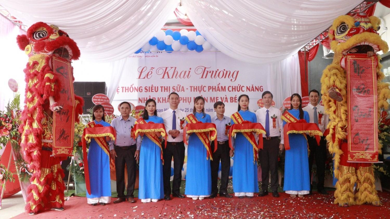 Giới thiệu hệ thống Siêu thị Sữa, Thực phẩm chức năng nhập khẩu Hùng Vương Mart