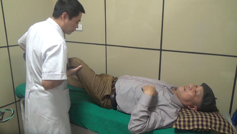 Bệnh nhân mổ khớp háng