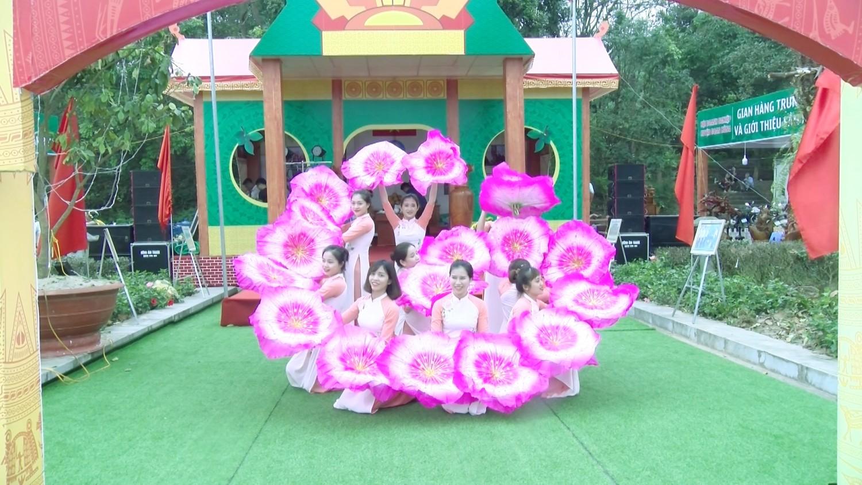 Múa hát Chào Việt nam – Lễ hội Đền hùng 2019